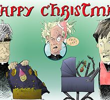 Father Ted Xmas Card by BurkyShtuff