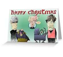 Father Ted Xmas Card Greeting Card