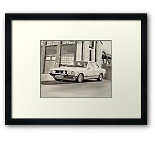 'The Sweeney' Mk.2 Ford Granada 2.8iS Framed Print
