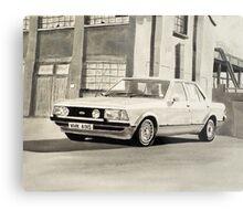 'The Sweeney' Mk.2 Ford Granada 2.8iS Metal Print