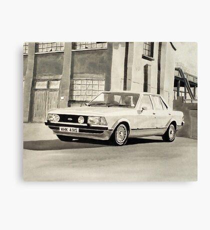 'The Sweeney' Mk.2 Ford Granada 2.8iS Canvas Print