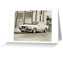 'The Sweeney' Mk.2 Ford Granada 2.8iS Greeting Card