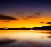 Lake Lanier Sunrise II by Bernd F. Laeschke