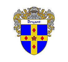 Bryant Coat of Arms/Family Crest Photographic Print