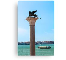 Lion of Saint Mark, Venice. Canvas Print