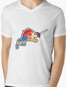 Lion-O Mens V-Neck T-Shirt