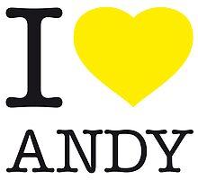I ♥ ANDY by eyesblau