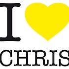 I ♥ CHRIS by eyesblau