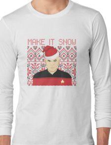 Trekky Xmas Long Sleeve T-Shirt