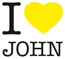 I ♥ JOHN by eyesblau