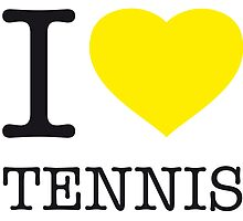I ♥ TENNIS by eyesblau