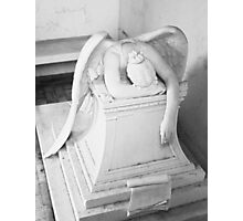 ANGEL OF GRIEF Photographic Print