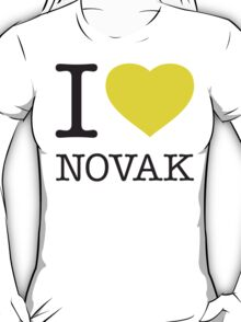 I ♥ NOVAK T-Shirt