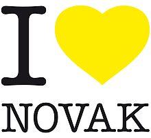 I ♥ NOVAK by eyesblau