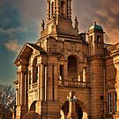 Evening Light at Cartwright Hall by Colin Metcalf
