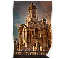 Evening Light at Cartwright Hall Poster