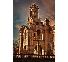 Evening Light at Cartwright Hall Photographic Print