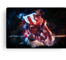 The win of my life is you Adrian! Canvas Print