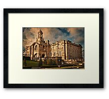 Evening Light at Cartwright Hall Framed Print