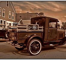 1929 Ford Model A Pickup Truck by TeeMack