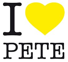 I ♥ PETE by eyesblau
