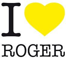 I ♥ ROGER by eyesblau