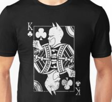 Justice Royalty - King of Night (Pure White) Unisex T-Shirt