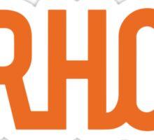 Urhos Classic Sticker (Orange) Sticker