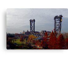 Chicago - Vertical Lift Bridge Canvas Print