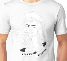 London Apparel Pin Up Girl Unisex T-Shirt