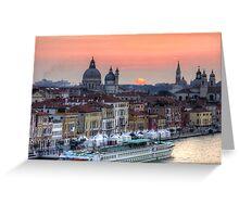 Venetian Dawn Greeting Card