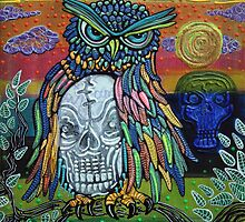 Sacred Skull by Laura Barbosa