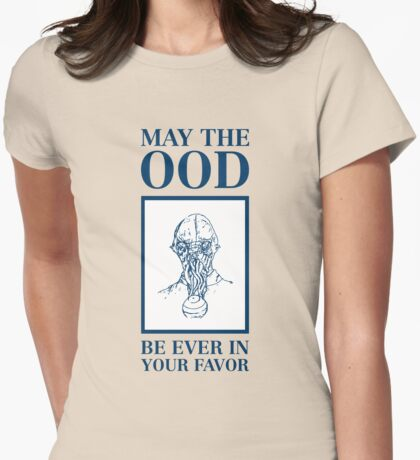 May the ood be in your favor Womens Fitted T-Shirt