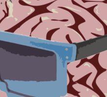 Cool Brains Sticker