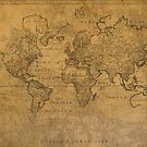 Map of the World 1784 by designturnpike