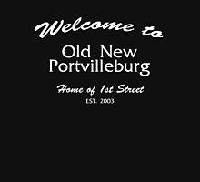 Welcome to Old New Portvilleburg Men's Baseball ¾ T-Shirt