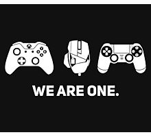 We Are One - White Photographic Print