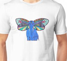 Elephant Butterfly  Unisex T-Shirt