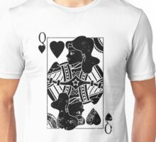 Justice Royalty - Queen of Truth (Pure Black) Unisex T-Shirt