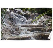 Dunn's River Falls photo Poster