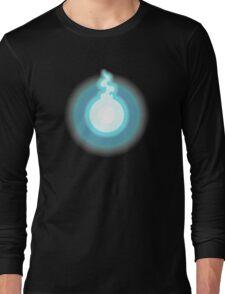 Glowing Blue Soul Long Sleeve T-Shirt
