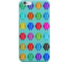 Android Andy Warhol color effect style iPhone Case/Skin