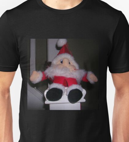 Santa On The Bannister! Unisex T-Shirt