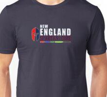 New England Spartan Men red/blue Unisex T-Shirt