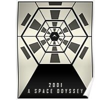 2001: A Space Odyssey (Fade Variant) Poster