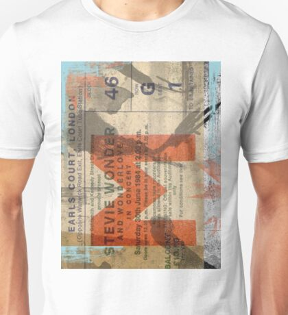 Stevie Wonder vintage ticket T-Shirt