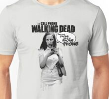 CELLPHONE WALKING DEAD Unisex T-Shirt