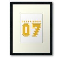Gryffindor 07 Framed Print