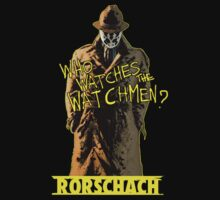 Watchmen - Rorschach  by Ray van Halen