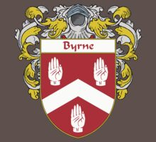 Byrne Coat of Arms/Family Crest Baby Tee